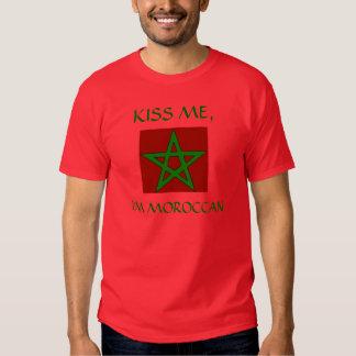 Kus me, ben ik Marokkaans Tshirts