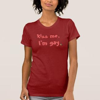 Kus me, ben ik vrolijk overhemd t shirt