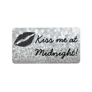 Kus me bij Middernacht! Addressticker