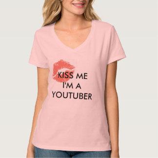 Kus me ik ben een Youtuber T Shirt
