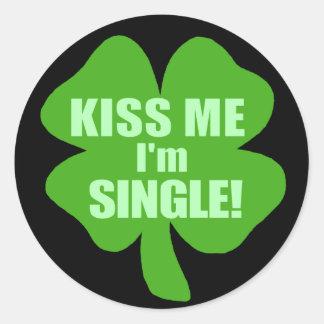 Kus me ik ben Enig Ronde Sticker
