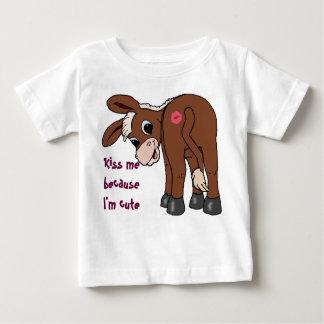 Kus me omdat ik Leuk ben Baby T Shirts