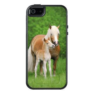 Kus Mum van het Veulen van de Paarden van OtterBox iPhone 5/5s/SE Hoesje