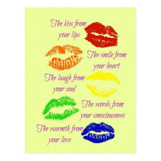 Kus van Uw Lippen Briefkaart