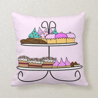 Kussen cupcake en taartjes