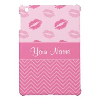 Kussen en het Roze en het Wit van Zigzag Hoesje Voor iPad Mini