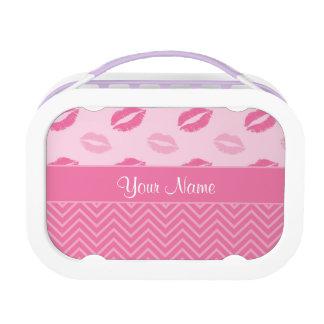 Kussen en het Roze en het Wit van Zigzag Lunchbox