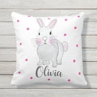 Kussen van het Konijn van het konijntje het Roze