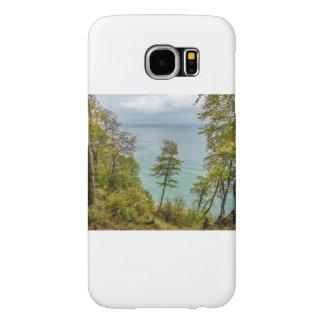 Kust bos op de Baltische kust van het Zee Samsung Galaxy S6 Hoesje