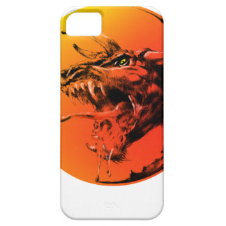Kwade draak barely there iPhone 5 hoesje