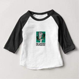kwade wetenschapper baby t shirts