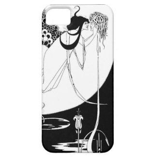 Kwal - Solome Audbrey Zwart-witte Beardsley Barely There iPhone 5 Hoesje
