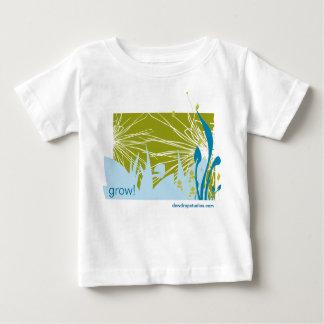 kweek baby, groei! baby t shirts