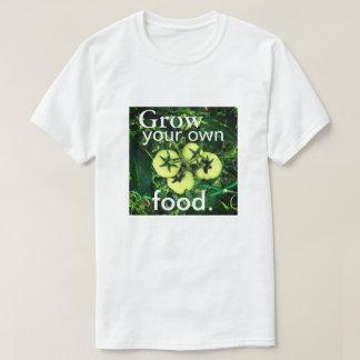 Kweek Uw Eigen Voedsel (Mannen/Unisex-) T Shirt