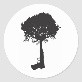 kweken-vrede ronde sticker