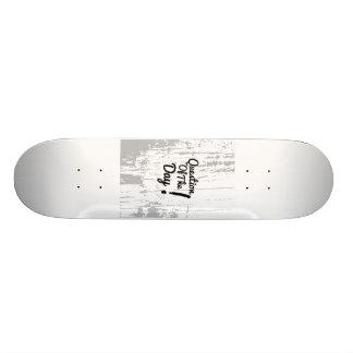 kwestie van de dag skateboard