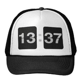 L33T het 13:37 van de klok Pet Met Netje