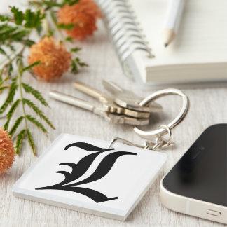 L- brief Keychain Sleutelhanger