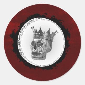 l.i.t. hamlet/R&G logostickers Ronde Sticker