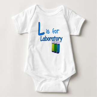 L is voor Laboratorium Romper