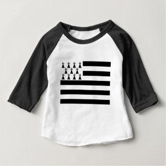 La Bretagne Breizh Gwenn Ha Du Britanny van Baby T Shirts