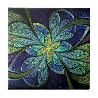 La Chanteuse IV het Abstracte Patroon van het Tegeltje