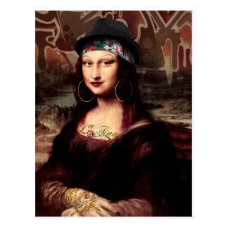 La Chola Mona Lisa Briefkaart