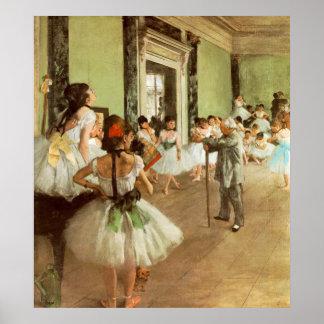 La Classe DE Danse door Edgar Degas Poster