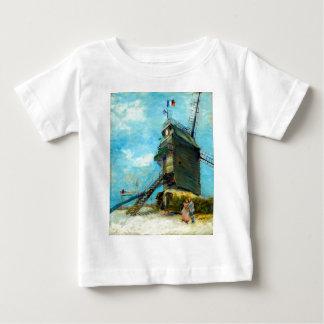 La Galette van Vincent van Gogh Le Moulin DE Baby T Shirts