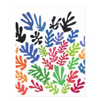 La Gerbe door Matisse Briefkaart