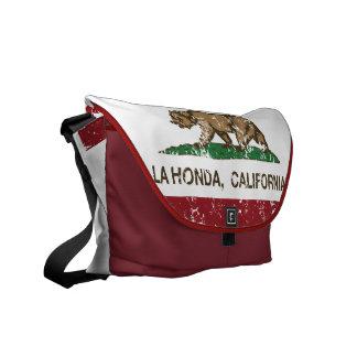 La Honda van de Vlag van de Republiek van Californ Courier Bags