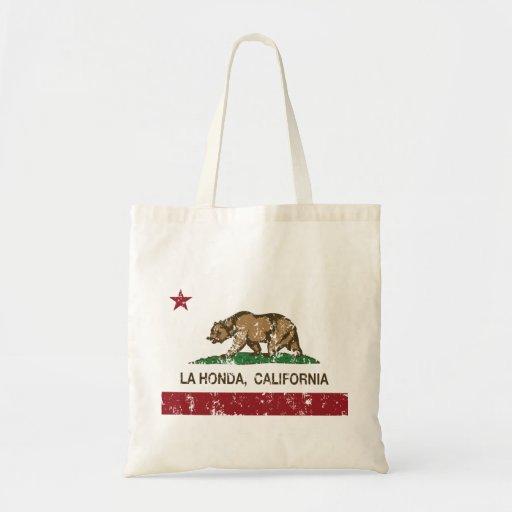 La Honda van de Vlag van de Republiek van Californ Tas