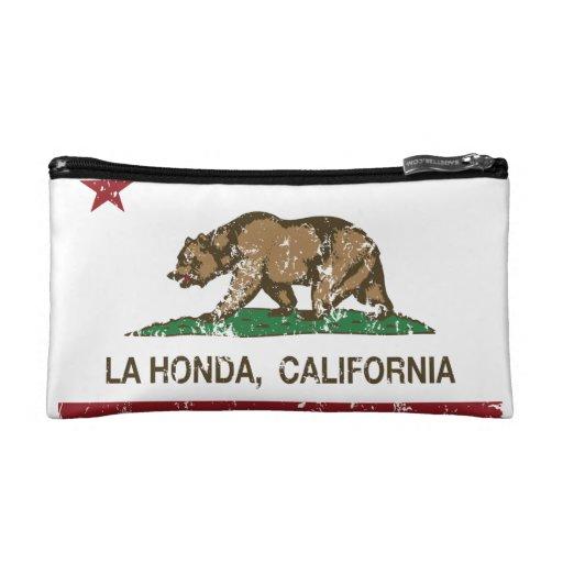 La Honda van de Vlag van de Republiek van Californ
