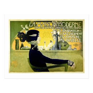 La Maison Moderne - Wijnoogst 1905 Briefkaart