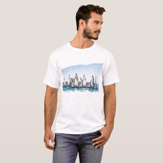 La Monde - het Ras van de Zeilboot T Shirt