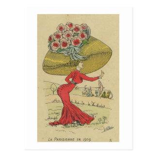 La Parisienne Briefkaart