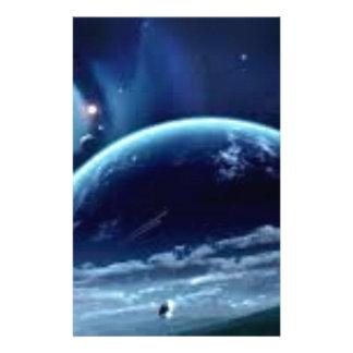La planeet terre briefpapier