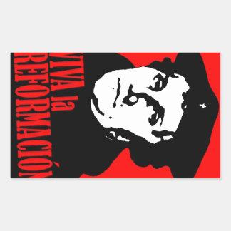 La Reformacion LUTHER van Viva Rechthoekige Sticker