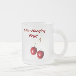 Laag - hangend Fruit Matglas Koffiemok