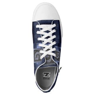 Laag Hoogste Blauw en Paars Sneakers G/Apparel