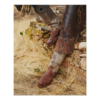 Laarzen 2 van de cowboy poster