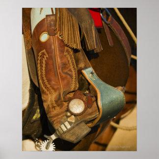 Laarzen 5 van de cowboy poster