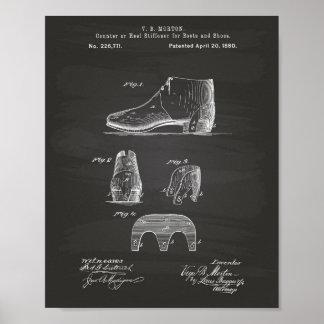 Laarzen en Schoenen 1880 het Bord van de Kunst van Poster