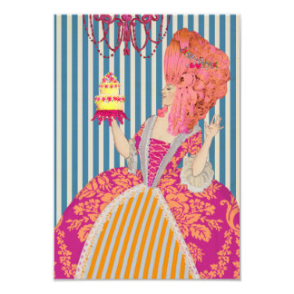 Laat hen Cake eten - Uitnodigingen/RSVP Kaart