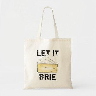 Laat het de Zak van het Bolsa van de Brie Draagtas