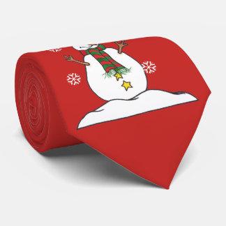 Laat het sneeuwen - Sneeuwman - Stropdas