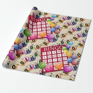 Laat het Verpakkende Document van Bingo van het Inpakpapier