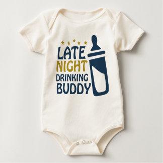 Laat - nacht die Vriend drink Baby Shirt