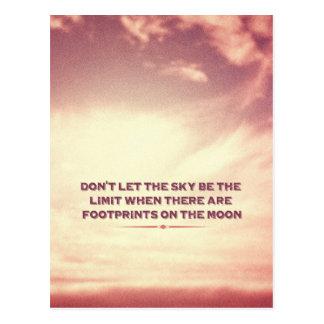 Laat niet de hemel de grens…