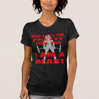 Laat niet de Mooie Dwaas u ik een Dier bent T Shirt